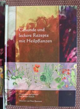 Buch 'Gesunde und leckere Rezepte mit Heilkräutern' - Hardcover